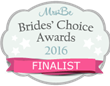 Brides Choice Award Finalist